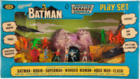 The Official Batman & Justice League of America Playset (Ideal, 1966)