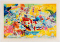 Olympic Collectibles:Autographs, 1976 Montreal Olympics Serigraph by LeRoy Neiman.. ...