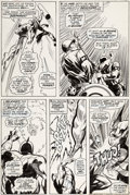 Original Comic Art:Panel Pages, Gene Colan and Vince Colletta Captain Marvel #3 Page 18Original Art (Marvel, 1968)....