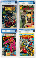 Bronze Age (1970-1979):Miscellaneous, DC/Marvel Bronze and Modern Age CGC-Graded Comics Group (DC/Marvel,1970-80) CGC NM 9.4.... (Total: 4 Comic Books)