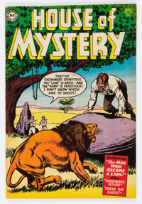 House of Mystery #29 (DC, 1954) Condition: FN/VF