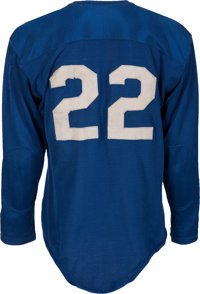 newest 9ea73 7a826 1950-53 Bobby Layne Game Worn Detroit Lions Jersey--Photo ...