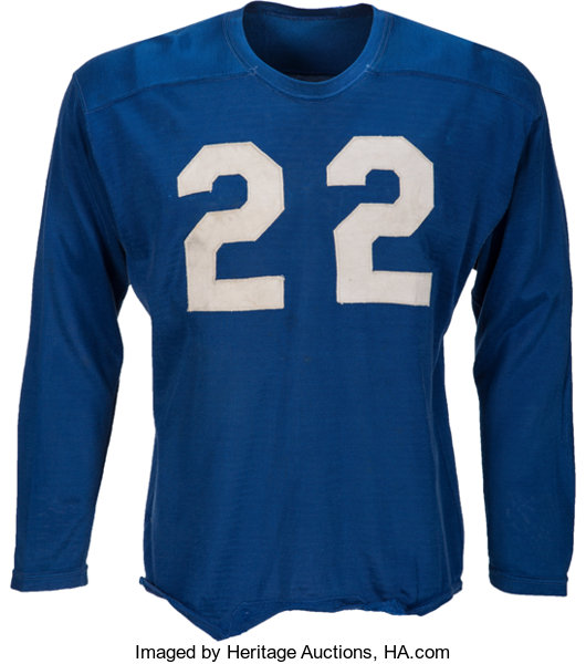 newest 5d66c b49a9 1950-53 Bobby Layne Game Worn Detroit Lions Jersey--Photo ...