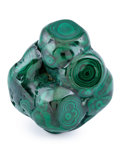 Minerals:Cabinet Specimens, Malachite. Katanga Copper Crescent. Katanga (Shaba). DemocraticRepublic of Congo (Zaïre). 4.04 x 3.78 x 2.27 inches (10.2...
