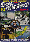 Platinum Age (1897-1937):Miscellaneous, Don Winslow of the Navy #1 (Merwil Publishing, 1937) Condition:Apparent FN. It will come as a surprise to some that there w...