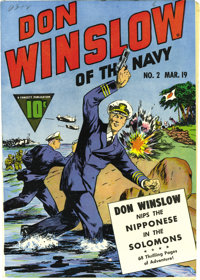 Don Winslow of the Navy #2 Mile High pedigree (Fawcett, 1943) Condition: NM. If you've only seen one of these impossibly...
