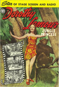 Golden Age (1938-1955):Adventure, Dorothy Lamour #3 Mile High pedigree (Fox, 1950) Condition: NM. Wally Wood interior art graces these pages. Overstreet 2006 ...