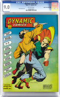 Golden Age (1938-1955):Superhero, Dynamic Comics #3 Mile High pedigree (Chesler, 1942) CGC VF/NM 9.0 Off-white pages. Put your bids together for Dynamic Man! ...