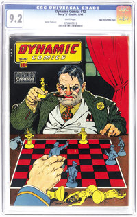 Dynamic Comics #12 Mile High pedigree (Chesler, 1944) CGC NM- 9.2 White pages. Great page quality and the finest of all...