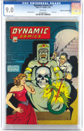Dynamic Comics #13 Mile High pedigree (Chesler, 1945) CGC VF/NM 9.0 White pages. An exciting skull cover and George Tusk...