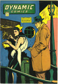 """Dynamic Comics #15 Mile High pedigree (Chesler, 1945) Condition: NM-. The covers of Harry """"A"""" Chesler books ra..."""