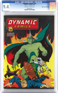 Golden Age (1938-1955):Miscellaneous, Dynamic Comics #18 Mile High pedigree (Chesler, 1946) CGC NM 9.4 Off-white to white pages. If you can't make it out in our c...