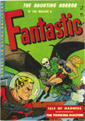 Golden Age (1938-1955):Horror, Fantastic #8 Cosmic Aeroplane pedigree (Youthful Magazines, 1952)Condition: NM-. Here's the first issue of a science fictio...