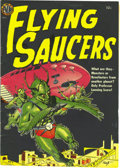 Golden Age (1938-1955):Science Fiction, Flying Saucers #nn Mile High pedigree (Avon, 1952) Condition:FN/VF. As this comic came out in a few similar variations, we'...