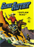 "Golden Age (1938-1955):Western, Four Color #83 Gene Autry - Mile High pedigree (Dell, 1945)Condition: VF/NM. This has ""upgrade"" written all over it -- the ..."