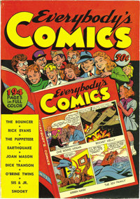 Fox Giants: Everybody's Comics #1 1944 Edition - Mile High pedigree (William H. Wise, 1944) Condition: Apparent VF. We h...