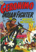 Golden Age (1938-1955):Western, Geronimo #1 Mile High pedigree (Avon, 1950) Condition: NM. JoeManeely is generally associated with Timely books, but he did...