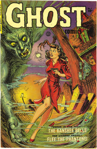 Ghost #1 (Fiction House, 1951) Condition: NM-. Maurice Whitman drew this issue's cover. Based on this copy's quality and...