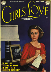 "Girls' Love Stories #1 Mile High pedigree (DC, 1949) Condition: VF/NM. This was the first ""full-fledged"" DC ro..."