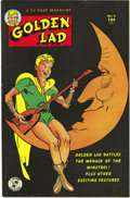 Golden Age (1938-1955):Superhero, Golden Lad #4 Mile High pedigree (Spark Publications, 1946) Condition: NM-. Mort Meskin is credited with this issue's cover ...