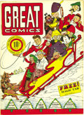 "Golden Age (1938-1955):Miscellaneous, Great Comics (first series) #2 Mile High pedigree (Great Comics Publications, 1941) Condition: NM. This issue's a Gerber ""7,..."