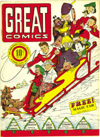 Great Comics (first series) #2 Mile High pedigree (Great Comics Publications, 1941) Condition: NM. This issue's a Gerber...
