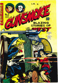 Golden Age (1938-1955):Western, Gunsmoke #2 Mile High pedigree (Western, 1949) Condition: NM-.Graham Ingels provided both the cover and some interior art f...