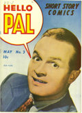 """Golden Age (1938-1955):Humor, Hello Pal #3 Mile High pedigree (Harvey, 1943) Condition: NM. This final issue of the title is called """"scarce"""" by Overstreet..."""