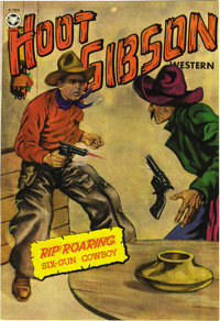 Hoot Gibson Western #3 Mile High pedigree (Fox Features Syndicate, 1950) Condition: NM-. Wally Wood is credited with thi...