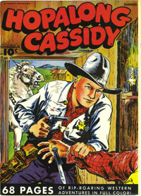 Hopalong Cassidy #2 Mile High pedigree (Fawcett, 1946) Condition: NM-. With the nicest CGC-certified copy as of this wri...