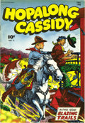 Golden Age (1938-1955):Western, Hopalong Cassidy #3 Mile High pedigree (Fawcett, 1946) Condition:VF/NM. This copy's got an unusual mis-trim, the whole comi...