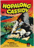 Golden Age (1938-1955):Western, Hopalong Cassidy #7 Mile High pedigree (Fawcett, 1947) Condition:NM+. This copy's got beautiful white pages. Overstreet 200...