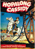 Golden Age (1938-1955):Western, Hopalong Cassidy #10 Mile High pedigree (Fawcett, 1947) Condition:NM+. You're sure to be happy with this high-grade Hoppy! ...