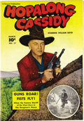 Golden Age (1938-1955):Western, Hopalong Cassidy #17 Mile High pedigree (Fawcett, 1948) Condition:NM. William Boyd is featured on this issue's photo cover....