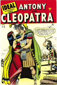 Ideal #1 Antony and Cleopatra - Mile High pedigree (Timely, 1948) Condition: NM-. What a beauty! No, not Cleopatra -- th...