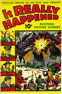 It Really Happened #1 Mile High pedigree (Wm. H. Wise & Co., 1944) Condition: FN/VF. The Edgar Church copy of an...