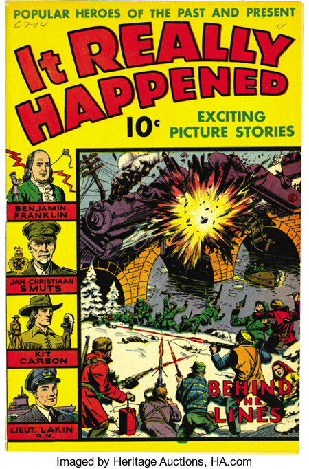 It Really Happened #1 Mile High pedigree (Wm. H. Wise & Co., 1944) Condition: FN/VF. The Edgar Church copy of an issue with ...