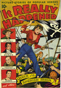 Golden Age (1938-1955):Non-Fiction, It Really Happened #11 Mile High pedigree (Standard, 1947)Condition: VF-. Alex Schomburg cover. Last issue of the title.Ov...