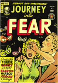 Golden Age (1938-1955):Horror, Journey Into Fear #4 (Superior, 1951) Condition: VF/NM. Thisexcellent copy would seem to compare favorably with the top CGC...