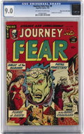Golden Age (1938-1955):Horror, Journey Into Fear #8 Mile High pedigree (Superior, 1952) CGC VF/NM9.0 Off-white to white pages. This pre-Code series, print...