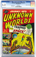 Golden Age (1938-1955):Science Fiction, Journey Into Unknown Worlds #5 Mile High pedigree (Atlas, 1951) CGCFN 6.0 White pages. Mike Sekowsky is among the contribut...
