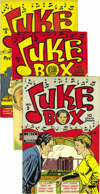 Juke Box Comics #1-6 Group - File Copies (Famous Funnies, 1948-49). How'd you like to own file copies of a title's entir...