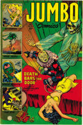Golden Age (1938-1955):Adventure, Jumbo Comics #164 Mile High pedigree (Fiction House, 1952) Condition: NM-. This issue's from near the end of the run (the bo...