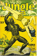 Golden Age (1938-1955):Adventure, Jungle Comics #60 Mile High pedigree (Fiction House, 1944) Condition: NM-. Fans of jungle action (or bare skin) found plenty...