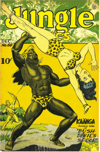 Jungle Comics #60 Mile High pedigree (Fiction House, 1944) Condition: NM-. Fans of jungle action (or bare skin) found pl...