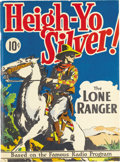 Golden Age (1938-1955):Western, Large Feature Comic (Series I) #3 Heigh-Yo Silver! The Lone Ranger- Mile High pedigree (Dell, 1938) Condition: VF+. Robert ...