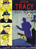 Golden Age (1938-1955):Crime, Large Feature Comic (Series I) #4 Dick Tracy Gets His Man - Mile High pedigree (Dell, 1939) Condition: VF/NM. This oversized...