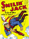 Golden Age (1938-1955):Adventure, Large Feature Comic (Series I) #14 Smilin' Jack - Mile High pedigree (Dell, circa 1941) Condition: NM. Holy moley, the sight...