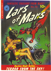 Lars of Mars #10 Mile High pedigree (Ziff-Davis, 1951) Condition: VF+. Lars of Mars' creator Jerry Siegel was once quote...