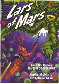 Lars of Mars #11 Mile High pedigree (Ziff-Davis, 1951) Condition: NM. Murphy Anderson handled the art chores on the titl...